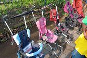 Catat! Jasa Stroller Bayi di Candi Borobudur Rp 50.000 Sekali Sewa