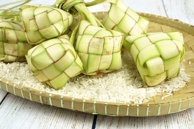 Ketupat adalah salah satu hidangan khas Lebaran di Indonesia