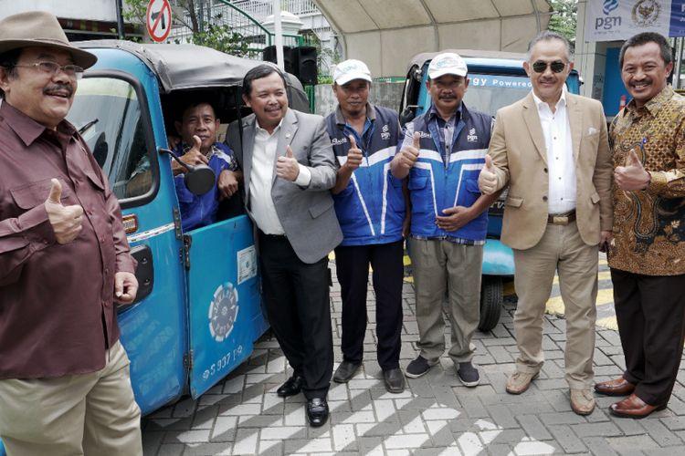 Anggota Panitia Kerja Minyak dan Gas (Panja Migas) DPR RI berkunjung ke Kantor Pusat PGN di Jakarta, Selasa (13/2/2018)