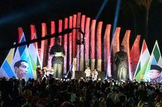 Saat Jokowi Bergoyang di Tugu Proklamasi...