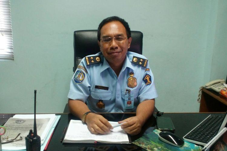 Kepala Rumah Detensi Imigrasi (Rudenim) Jakarta, Buono Adi Suciptosaat ditemui di ruangannya, Kamis (10/8/2017).