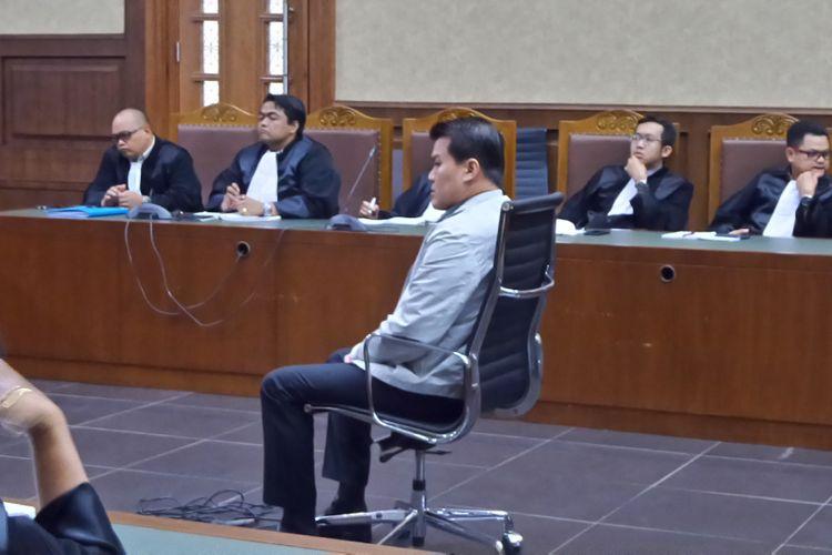 Sidang tuntutan kasus dugaan korupsi proyek pengadaan Kartu Tanda Penduduk berbasis elektronik (e-KTP) dengan terdakwa Andi Agustinus alias Andi Narogong di Pengadilan Tipikor Jakarta, Kamis (7/12/2017).