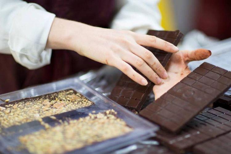 Wellington Chocolate Factory di Selandia Baru.
