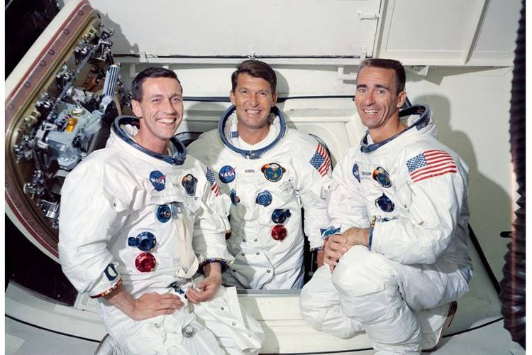 Walter M. Schira, Donn F Eisele dan Walter Cunningham