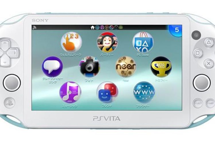 PS Vita baru hadir lebih ringan dan tipis