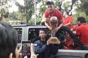 Bintang Persija Bawa Keliling Piala Presiden di Jakarnaval 2018
