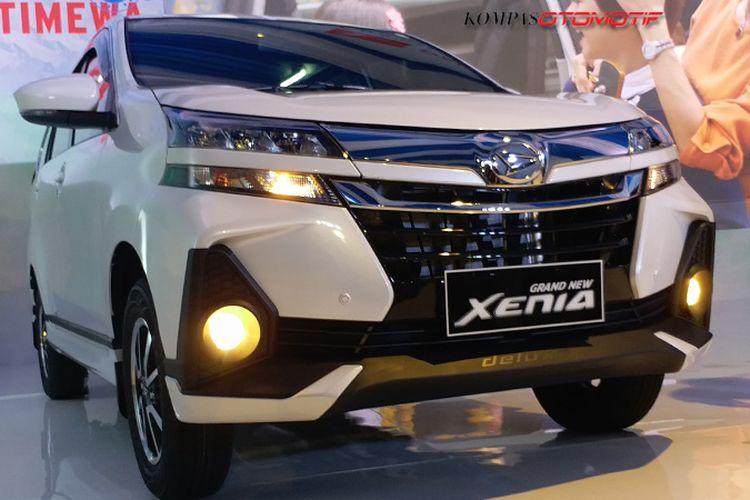 Tampilan baru Daihatsu Xenia facelift