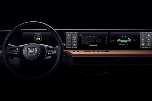 Wujud Interior Mobil Listrik Honda yang Futuristik