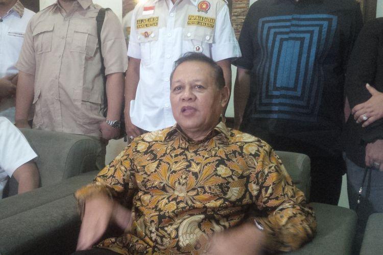 Mayjen (Purn) Sudrajat, bakal calon gubernur yang diusung Partai Gerindra dalam ajang Pilkada Jawa Barat 2018.