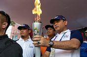 Obor Asian Games Diarak Menuju Ragunan
