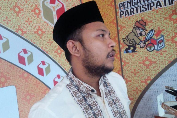 Ketua Bawaslu Kabupaten Jombang, Ahmad Udi Masykur.