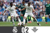 Real Madrid Vs Real Betis, Tuan Rumah Malu di Santiago Bernabeu