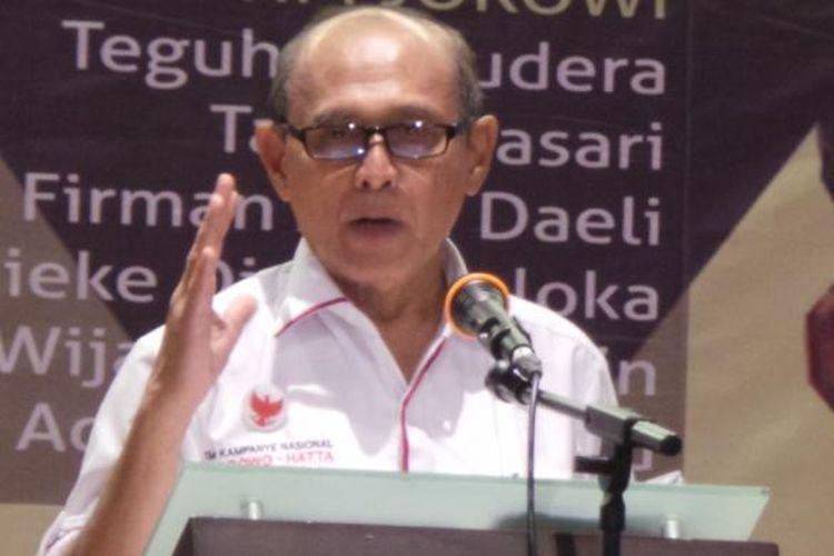 Mantan Kepala Staf Kostrad, Mayor Jenderal (Purn) Kivlan Zen.