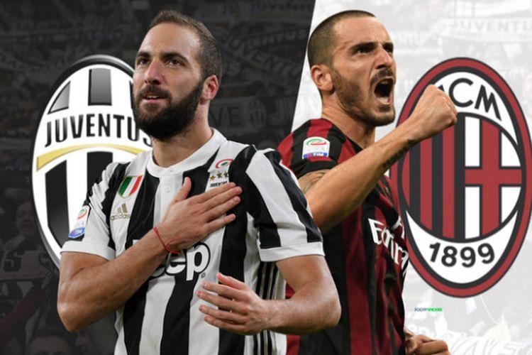 AC Milan dan Juventus melakukan barter pemain yang di antaranya melibatkan Leonardo Bonucci dan Gonzalo Higuain.