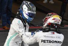 Bos Mercedes Senang Lihat Persaingan antara Hamilton dan Bottas