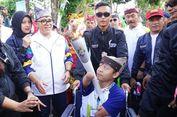 Kisah Difabel Pembawa Obor Asian Games dan Sepatu untuk Sang Adik