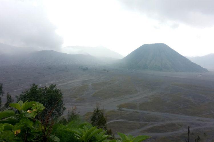Kondisi Gunung Bromo terbaru, Selasa (19/2/2019)