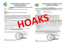 [HOAKS] Surat Kemenkes Minta Biodata Tenaga Medis dan Nonmedis di RS