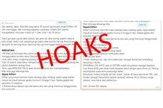 [HOAKS] Pesan soal 600 Anak Terkena Difteri di Jakarta