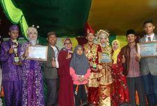 Polres Inhil Kawal Festival Budaya Pengantin Sahur