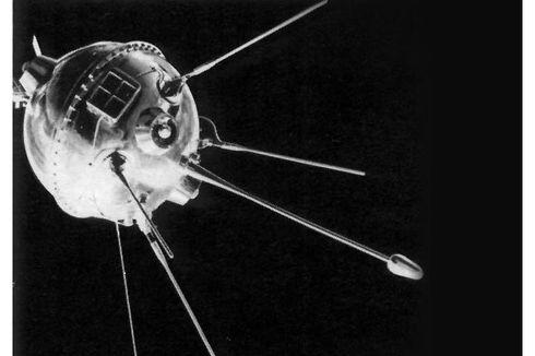 Luna 1, Wahana Antariksa Pertama yang Capai Orbit Matahari