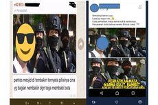 Polisi Tangkap Penyebar Hoaks Ada Anggota Brimob dari China