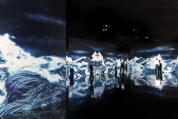 Black Waves: Lost, Immersed and Reborn