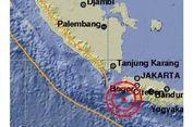 Gempa Magnitudo 5,2 Guncang Lebak Banten, Getaran Terasa hingga Jakarta