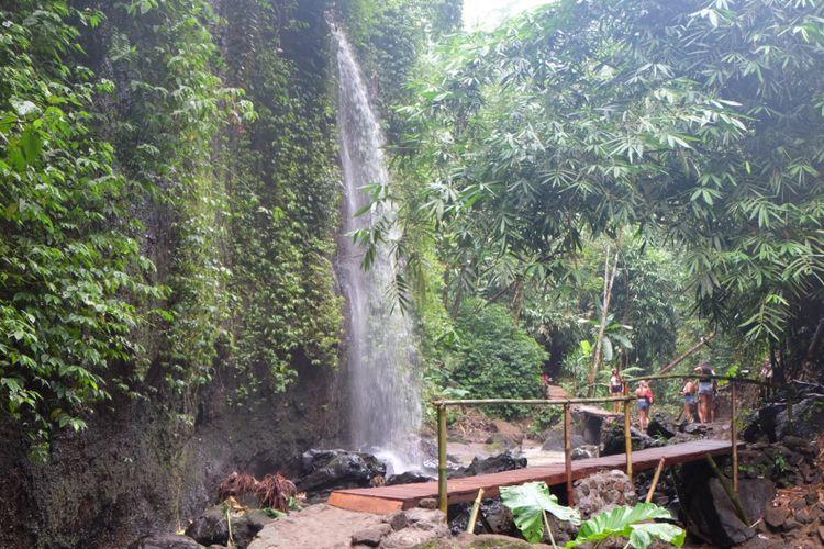 Air Terjun Tibumana di Desa Apuan, Bangli, Bali.