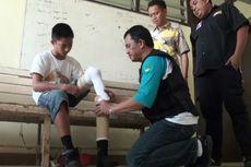 Kirim Surat ke Presiden Jokowi, Anak Penyandang Disabilitas Ini Dapat Kaki Palsu