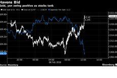 Bursa Saham Dunia Alami Koreksi, Yen dan Emas Menguat
