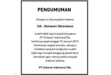 Pengumuman dari PT Unilever Indonesia Tbk