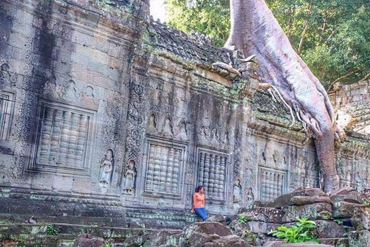 Angkor Wat di Kamboja.