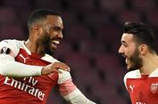 Napoli Vs Arsenal, Gol Lacazette Pastikan The Gunners ke Semifinal