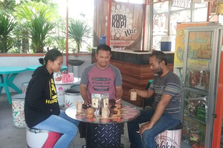 Kedai kopi Kopa Kopi Wae di Kendal, Jawa Tengah, Rabu (12/9/2018).