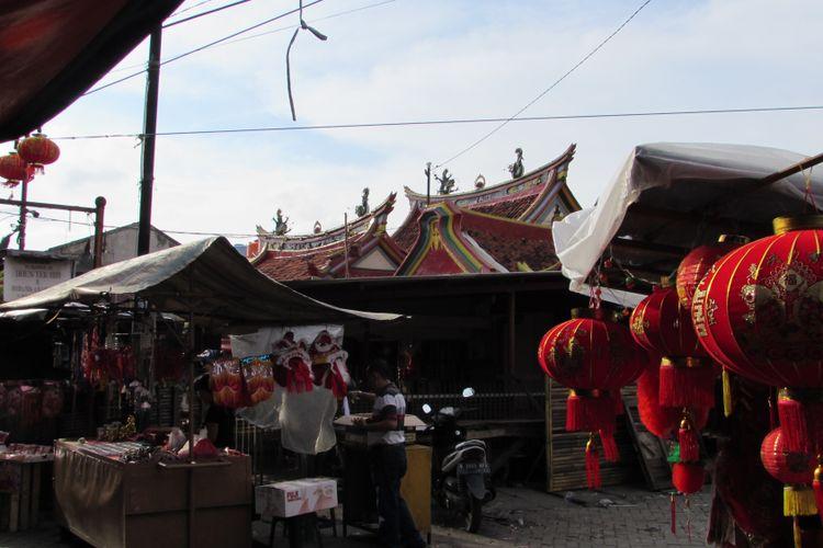 Pasar Lama, Tangerang, Banten, dikenal sebagai kawasan yang sarat nilai historis sekaligus destinasi wisata kuliner.