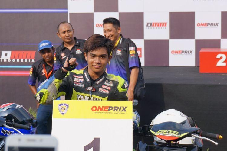 Usai berlaga di ARRC Jepang, Robby kembali balapan di seri perdana OnePrix 2019 kelas Novice. Di Race 1 berhasil podium kedua, sedangkan di Race 2 menyabet podium pertama. Masih menggunakan wearpack lama karena dicuri.
