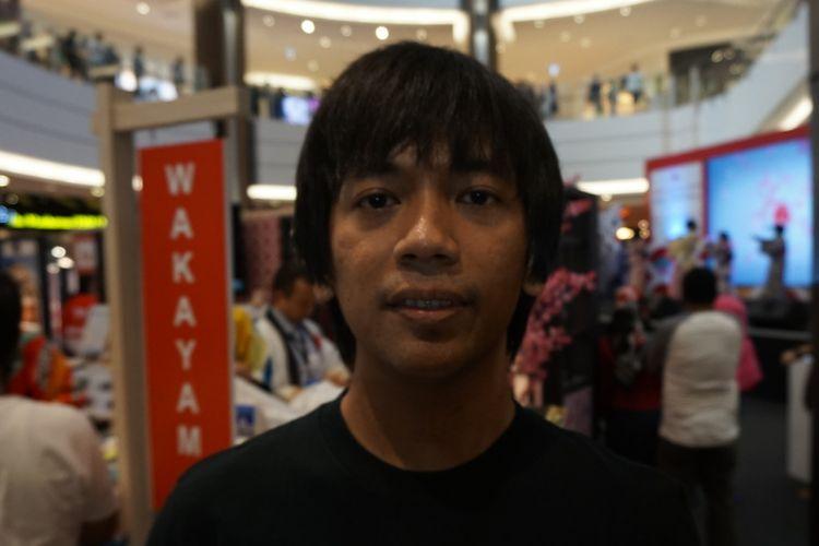 Rian DMASIV ditemu dalam sebuah acarai di kawasan BSD, Tangerang Selatan, Banten, Minggu (16/9/2018).