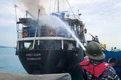 Kapal MV Aventador Terbakar, 5 Kru Terjun ke Laut