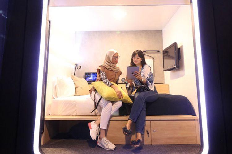 PP Hospitality hadirkan kamar kapsul pertama dengan konsep tradisional yang rencananya dibangun di Kota Mataram, Nusa Tenggara Barat pada awal 2019.