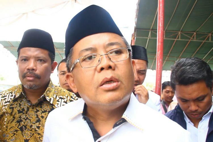 Presiden PKS Muhammad Sohibul Iman saat di Mataram, Selasa (10/7/2018).