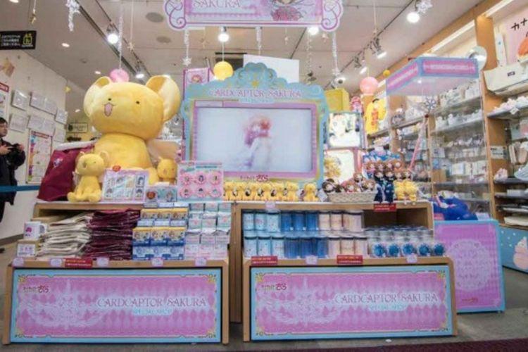 Toko eksklusif Cardcaptor Sakura di Kiddy Land Harajuku, Jepang