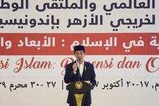 Jokowi Bertemu Imam Besar Al Azhar, Bahas Islam Jalan Tengah