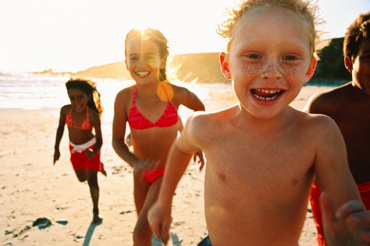 Lari dan kegiatan lain memicu pertumbuhan anak