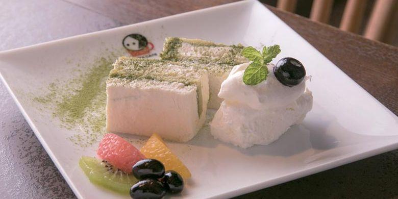 Kafe ini menyediakan Tiramisu Tofu yang hanya dijual di cabang Gion dan Sagano Arashiyama, Kyoto, Jepang.