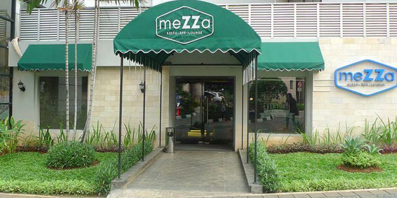 Mezza Resto Bar and Lounge di dalam Hotel Aston Rasuna Jakarta.