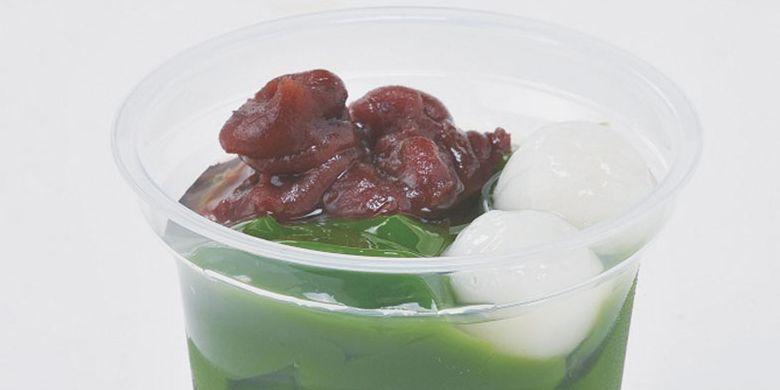 Kue Namacha Jelly di Kansai, Jepang.