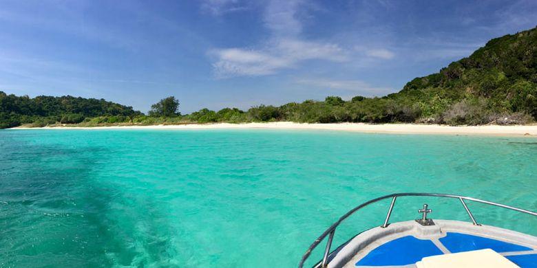 Samae San Island di Pattaya, Thailand.
