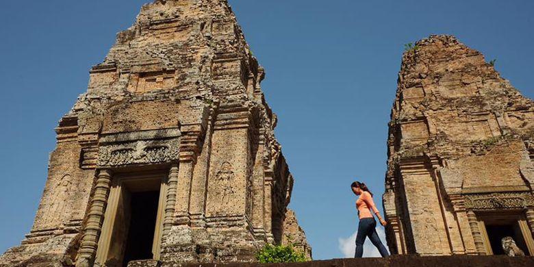 Kuil Ta Keo di Kamboja