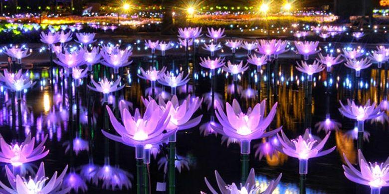 Ashikaga Flower Park terletak di Prefektur Tochigi, Jepang. Pada 20 Oktober 2017 taman ini dinobatkan sebagai salah satu dari tiga lokasi iluminasi terbesar di Jepang pada acara Yakei Summit 2017 di Ashikaga.